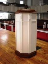 Baptismal Font, Stained
